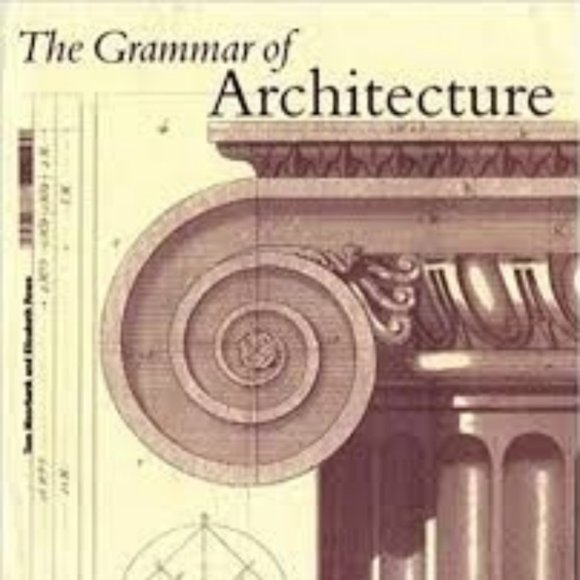 Accents The Grammar Of Architecture Coffee Table Book Poshmark